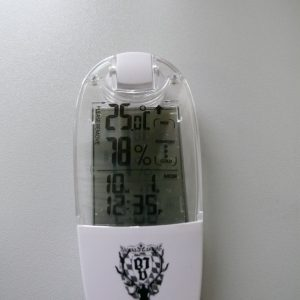 Thermo-Hygrometer Solar